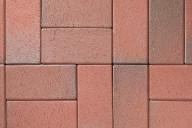 ABC Pflasterklinker, Artikel 0935, herbstlaub-geflammt, 200x100x52mm