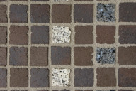 ABC Pflasterklinker, Artikel 0999, mitternachsblau, 240x118-bzw.-60x60x52mm, Kleinpflaster
