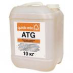 ATG Грунтовка глубокого проникновения. Грунтовка глубокого проникновения на основе полимерной дисперсии, не содержащая растворителей, для нанесения на абсорбирующие основания. Для выравнивания впитывающих способностей различных поверхностей. Для всех видов последующих шпаклевочных и плиточных работ, как наружных, так и внутренних. Цвет: молочно-белый, после высыхания - прозрачный.
