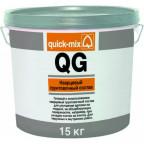 QG Кварцевый грунтовочный состав. Готовый к использованию кварцевый грунтовочный состав для улучшения адгезии. Рекомендуется для обработки плотных оснований с низкой впитывающей способностью, например, гладкого бетона, цементно-волокнитых и гипсокартоных плит, а также под структурные, декоративные штукатурки, облицовки керамической плиткой и т.п. Для наружных и внутренних работ. Цвет: белый - пигментированный